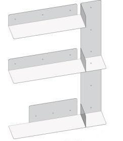 Estantes modulares decoración deco mobiliario muebles estanterías diseño personalizado original