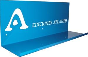 estante Ediciones ATLANTIS pymes empresas RCdiseño chapa metal regalos personalizado